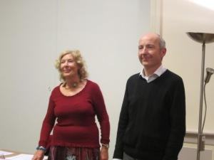 Eveline Legrand et Pirly Zurstrassen en 2012