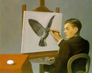 Magritte clairvoyance